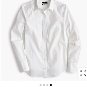 J.Crew Perfect Fit Stretch Button Down - Size 4